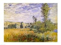 Vetheuil (field) Fine-Art Print