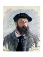 Self Portrait with a Beret, 1886 Fine-Art Print