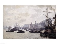The Thames at London Fine-Art Print