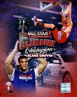 Blake Griffin 2011 NBA Slam Dunk Champion Portrait Plus Fine-Art Print