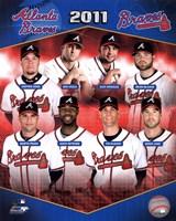 Atlanta Braves 2011 Team Composite Fine-Art Print