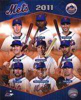 New York Mets 2011 Team Composite Fine-Art Print