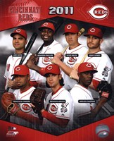 Cincinnati Reds 2011 Team Composite Fine-Art Print