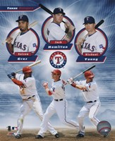 Texas Rangers 2011 Triple Play Composite Fine-Art Print