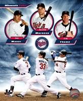 Minnesota Twins 2011 Triple Play Composite Fine-Art Print