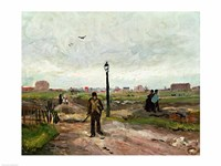 The Outskirts of Paris, 1886 Fine-Art Print