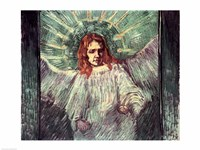 Head of an Angel, after Rembrandt, 1889 Fine-Art Print