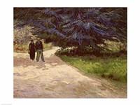 Couple in the Park, Arles, 1888 Fine-Art Print