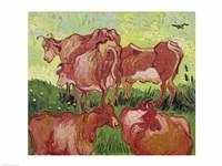 Cows, 1890 Fine-Art Print