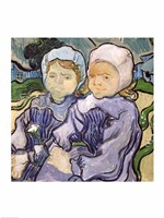 Two Little Girls, 1890 Fine-Art Print
