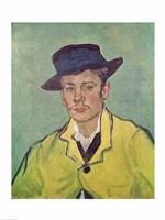 Portrait of Armand Roulin, 1888 Fine-Art Print