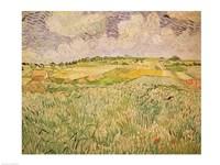 The Plain at Auvers, 1890 Fine-Art Print