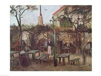 Pleasure Gardens at Montmartre, 1886 Fine-Art Print