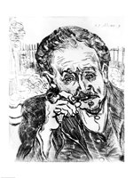 The Man with the Pipe, Portrait of Doctor Paul Gachet Fine-Art Print