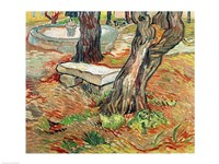 The Bench at Saint-Remy, 1889 Fine-Art Print