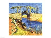 Le Pont de Langlois a Arles, 1888 Fine-Art Print
