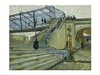 The Bridge at Trinquetaille Fine-Art Print
