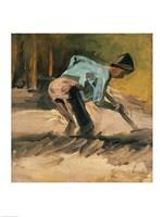 Man at Work, c.1883 Fine-Art Print