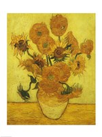 Sunflowers, 1889 Fine-Art Print