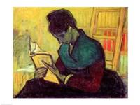 The Novel Reader, 1888 Fine-Art Print