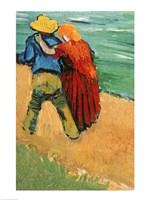 A Pair of Lovers, Arles, 1888 Fine-Art Print