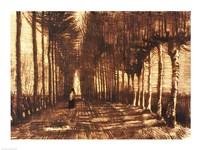 Figure on a Road, 1884 Fine-Art Print