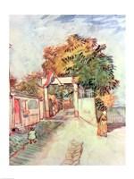 French Street Scene Fine-Art Print