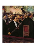 The Opera Orchestra, c.1870 Fine-Art Print