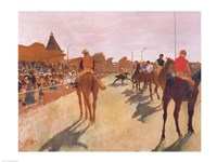 The Parade, or Race Horses in front of the Stands Fine-Art Print