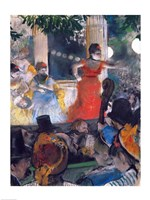Cafe Concert at Les Ambassadeurs Fine-Art Print