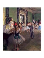 The Dancing Class Fine-Art Print