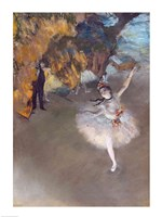 The Star, or Dancer on the Stage Fine-Art Print