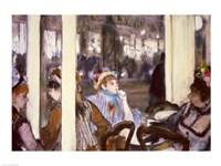 Women on a Cafe Terrace, 1877 Fine-Art Print