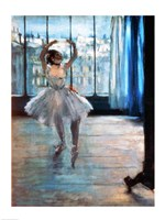 Dancer in Front of a Window Fine-Art Print