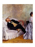 Monsieur and Madame Edouard Manet Fine-Art Print