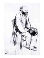 Study for a portrait of Manet Fine-Art Print