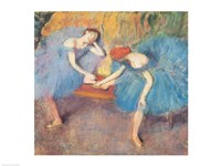 Two Dancers at Rest Fine-Art Print