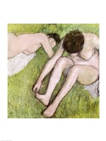 Two Bathers on the Grass Fine-Art Print