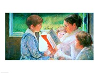 Mrs Cassatt Reading to her Grandchildren, 1888 Fine-Art Print