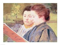 Women Reading Fine-Art Print
