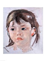 Head of a Young Girl Fine-Art Print
