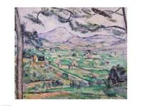 Montagne Sainte-Victoire B Fine-Art Print