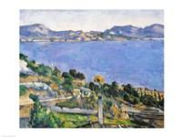 L'Estaque, View of the Bay of Marseilles Fine-Art Print