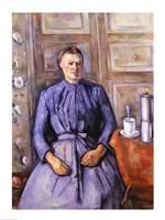 Woman with a Coffee Pot Fine-Art Print