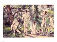 Study of Bathers Fine-Art Print