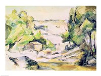 Countryside in Provence Fine-Art Print