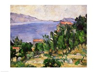 View of Mount Marseilleveyre and the Isle of Maire Fine-Art Print