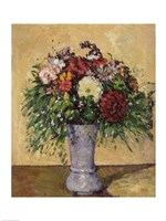 Bouquet of Flowers in a Vase, c.1877 Fine-Art Print
