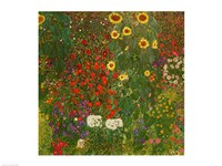 Farm Garden with Flowers Fine-Art Print