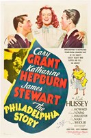The Philadelphia Story - Cary Grant Wall Poster